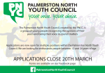Palmerston North Youth Council: Now Recruiting